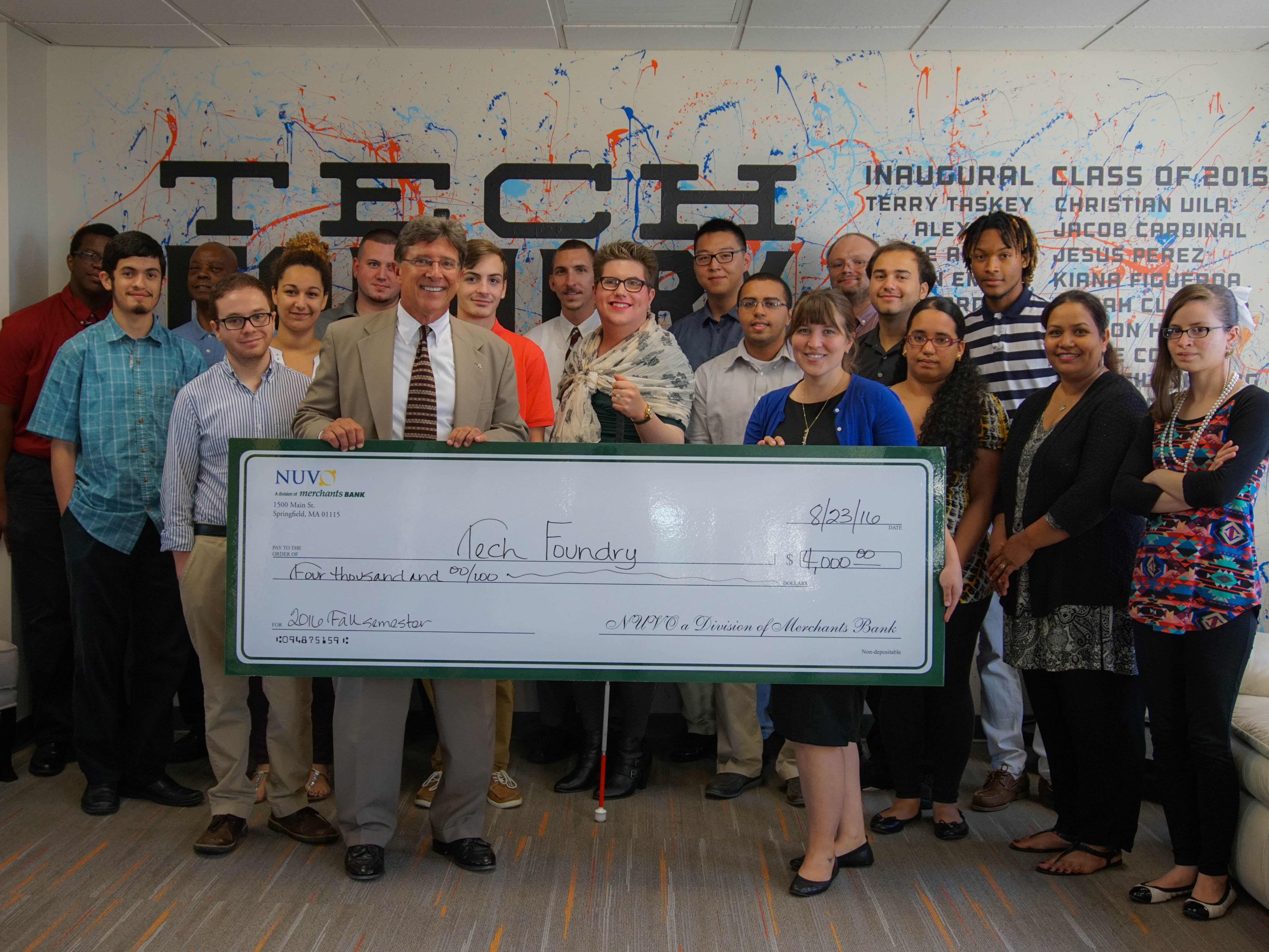 Nuvo Bank with Summer 2016 Cohort